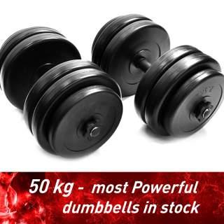 Adjustable dumbbells set 50kg (2x25kg)